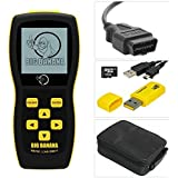 Big Banana BB750 Reset Check Engine Light CAN Car Auto Scanner Diagnostic OBDII Scan Tool Code Reader plus Live Data, Enhanced Graphing and is Bilingual