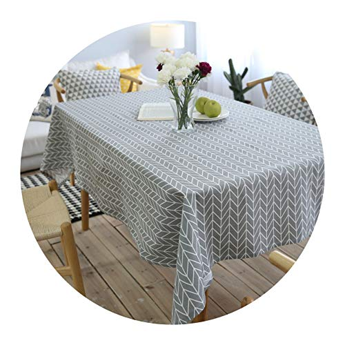 Stree Corner-home Cotton Linen Tablecloth Rectangular Tablecloths Dining Table Cover (Baby Oilcloth Bib)