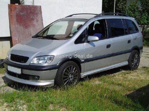 Opel Zafira Frontsch/ürze Tuning Frontlippe Spoiler OPC Line