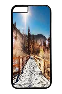 Aspen Trail Winter Polycarbonate Hard Case Cover for iphone 6 4.7 inch Black