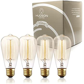 TOP RATED Hudson Lighting Vintage Light Antique Style Edison Bulb ...