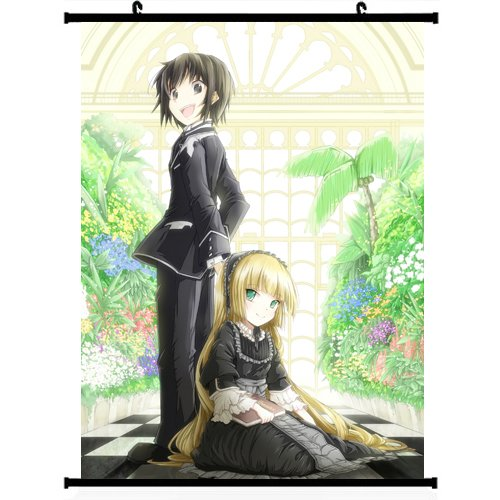 Gosick Anime Wall Scroll Poster Victorica de Broix-victorique de Blois Kazuya Kujou(24''*32'') Support Customized