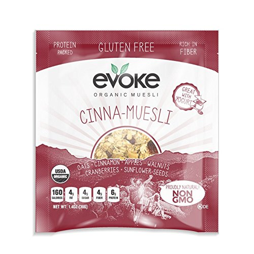 EVOKE HEALTHY FOODS, MUESLI, OG2, CINNAMON, GF - Pack of 5 by Evoke Healthy Foods