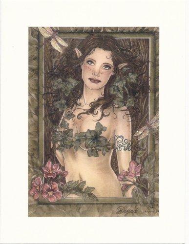 Dryad Marjolein Gulinski Hand Embellished Fairy Greeting Card