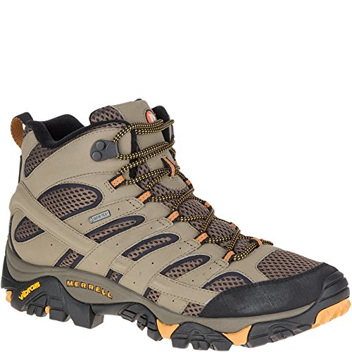 Merrell Men's Moab 2 Mid GTX hiking Boot, Walnut, 7 W US