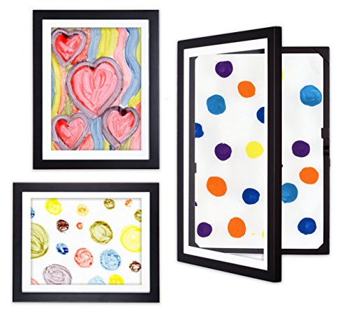 dynamicFRAMES® Li'l Davinci Kid's Art Frames - 12x18, 9x12, and 8.5x11 collection