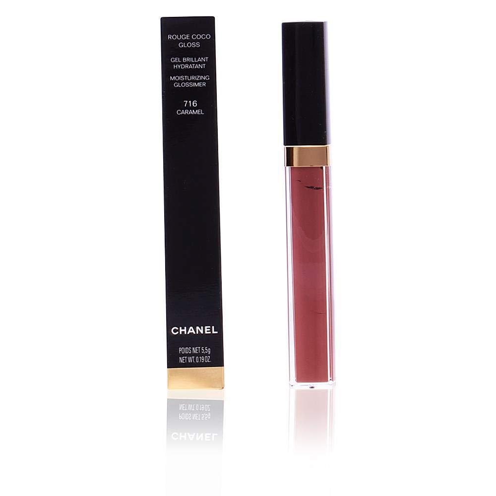 Chanel Rouge Coco Gloss Moisturizing Glossimer Lip Gloss, 726 Icing, 0.19 Ounce