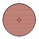 V PARTS - 11753 : Reflex reflector catadioptrico rojo redondo con adhesivo