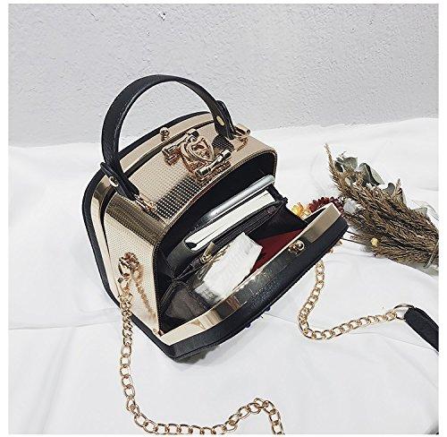 Bolsos Señoras Las Crossbody Black Salvaje Cámara Cadena Totes Bag Portátiles Mensajero Bags Para Hobo Femenino Mujer Hombro Xuanbao Almacenamiento De Shoulder aSqIX4xI