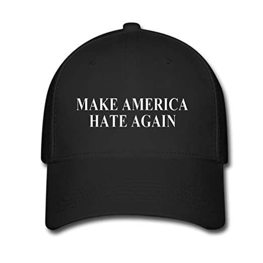a69b22d033c Amazon.com  BIN New Amazing Unisex Make America Hate Again Fashion Cotton Baseball  Cap Casual Snapback Hat  Sports   Outdoors