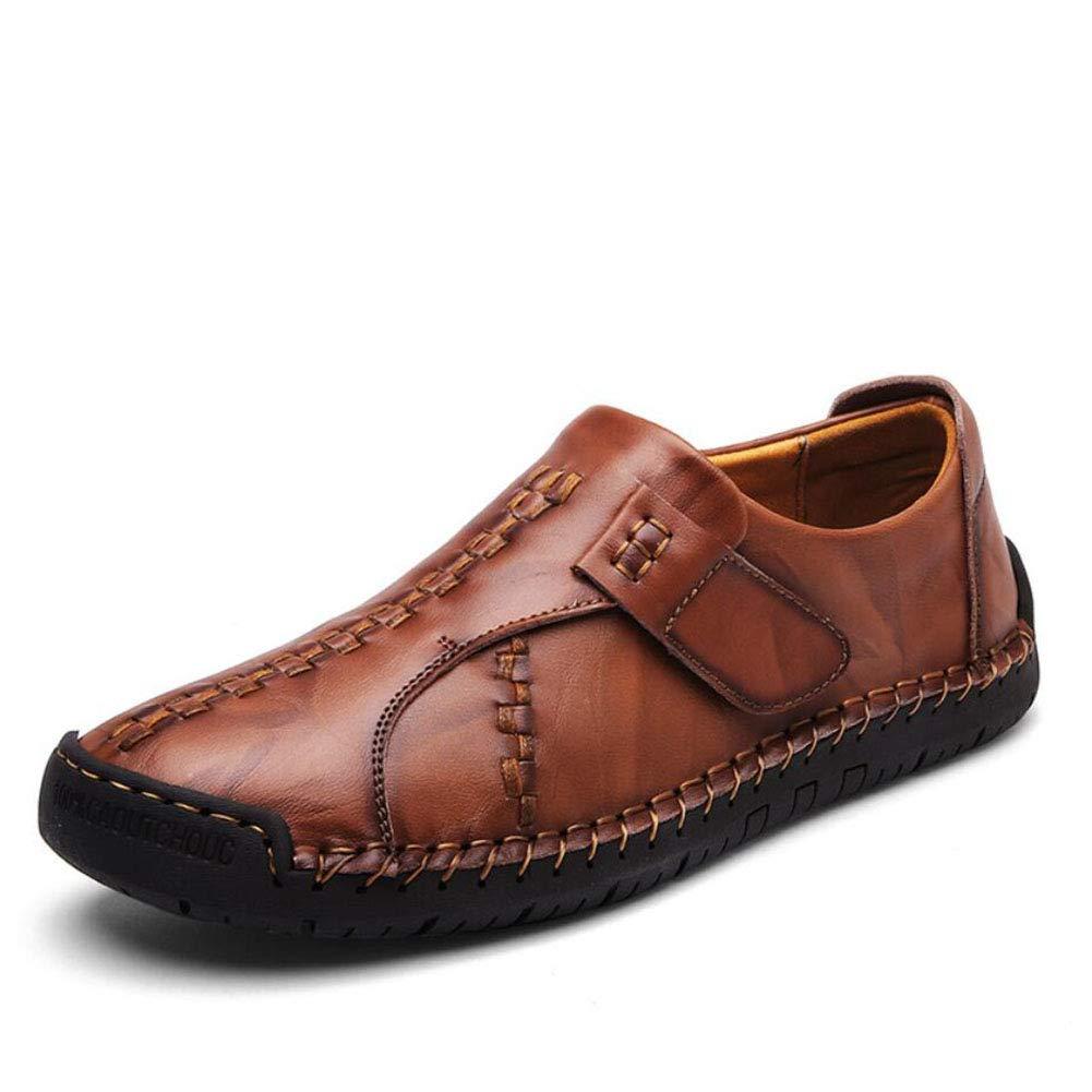 Y-H Herren Schuhe, Frühjahr Herbst New Casual Business Schuhe Schuhe Business Bequem Atmungsaktiv Erbsen Schuhe Loafer & Slip-Ons Lazy Schuhe Formelle Business Arbeit 2ae2cd