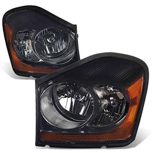 - For Durango Pair of Smoked Lens Amber Corner Headlight Lamp