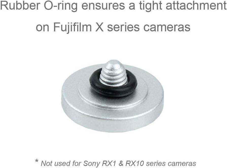 Foto/&Tech Soft Shutter Release Button Compatible with Fuji X-T20 X-T10 X-T3 X-T2 X-PRO2 X-PRO1 X100F X100T X100S X30 X-E2S X-E3 X-E2//Sony RX1RII RX10 IV III II//Lecia M10 M9//Nikon Df F3 4PC, RBDRGR