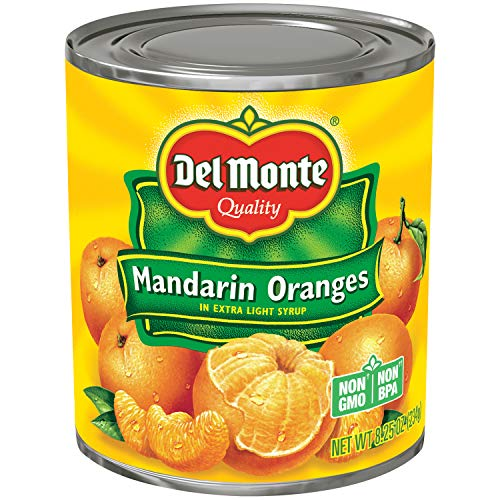 - Del Monte Mandarin Oranges in Light Syrup, 8.25 Ounce (Pack of 12)
