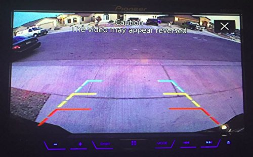 for Universal Monitors PY/_FD/_T3 2015 + PYvideo Backup Camera with Tailgate Handle for Ford F150 RCA