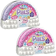 Educational Insights Playfoam Pals Unicorn Magic 2-Pack   Surprise Collectible Charm & Heart-Studded Locket Inside   Perfect