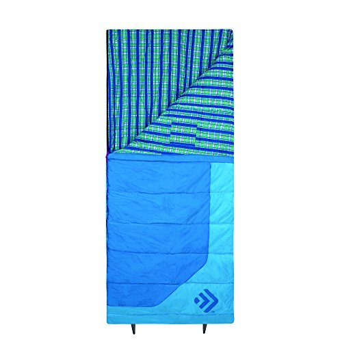 Outdoor Products Women's Rectangular Sleeping Bag Blue Grotto Adult [並行輸入品] B072Z8BLLV
