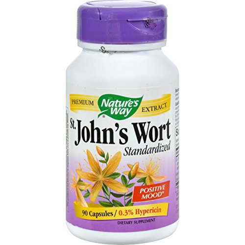 Nature's Way St John s Wort Standardized - 90 Capsules