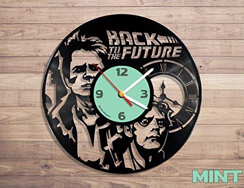 Back To The Future Movie Disco de vinilo reloj de pared ...