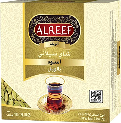 Alreef Premium Black Tea with Cardamom (2 Pack)