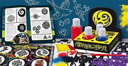 Lisciani Giochi I/'m a Genius Laboratorio La Fabbrica dei Tatuaggi Gioco Scientif
