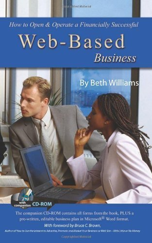How to Open & Operate a Financially Successful Web-Based Business: With Companion CD-ROM Paperback - August 30, 2007