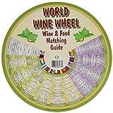 Franmara 6136-BU The World of Wine Wheel & Food Matching Guide