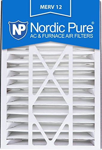 Price comparison product image Nordic Pure 16x25x5 (4-7 / 8 Actual Depth) MERV 12 Trion Air Bear Replacement AC Furnace Filter,  Box of 1