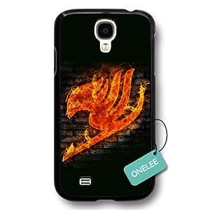 Onelee(TM) Japanese anime Fairy Tail Logo Samsung Galaxy S4 Case & Cover - Black11