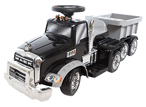 Beyond Infinity Ride on Mack Truck Battery Operated Ons, Black, Model #12732