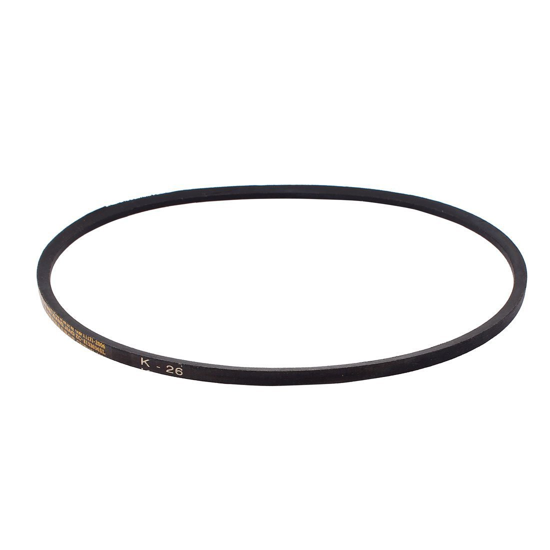 Rubber K Type K26 Machine Transmission Drive V Belt Black uxcell a15052100ux0270