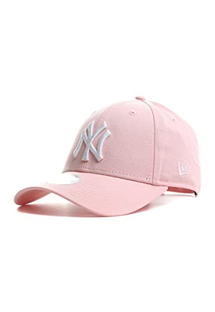 a57407e360a3ac New Era New York Yankees Essential 9 Forty Casquette Femme, Rose, FR (Taille