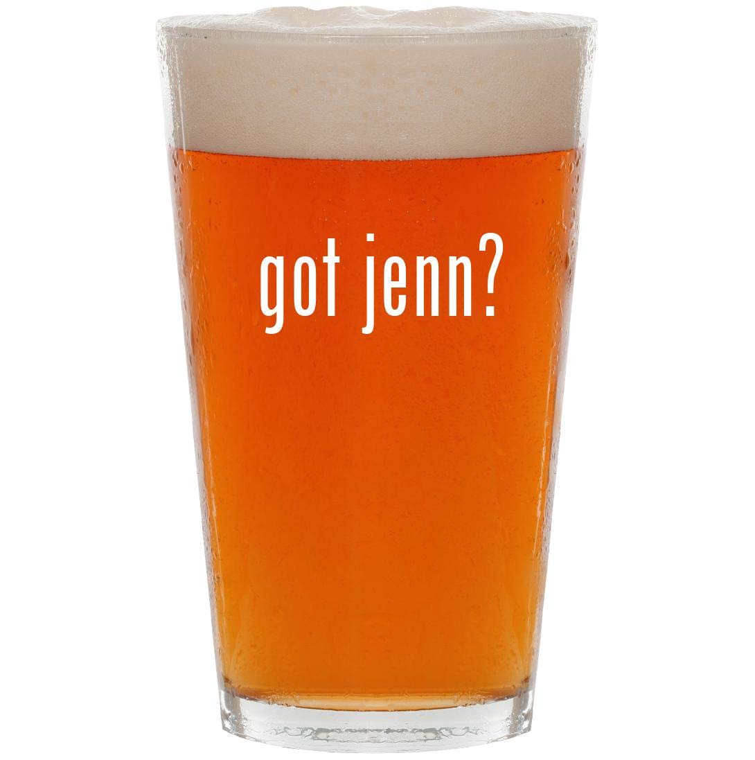 got jenn? - 16oz Pint Beer Glass