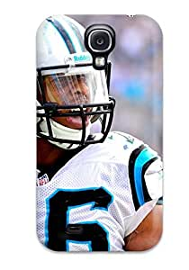 Hot Carolina Panthers First Grade Tpu Phone Case For Galaxy S4 Case Cover