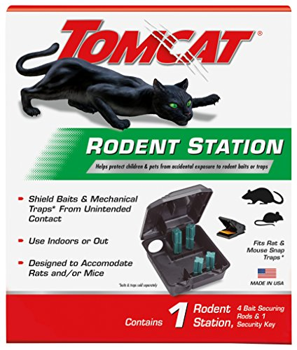 (Tomcat 0363410 Rodent Station for Indoor and Outdoor Use)