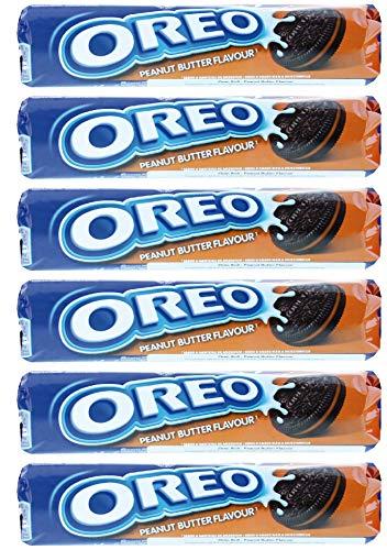 Oreo Peanut Butter 154g - Pack of 6