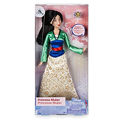 Disney Mulan Classic Doll with Ring - 11 1/2 inch: Toys & Games