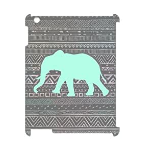 Aztec Elephant 3D-Printed ZLB533482 Brand New 3D Cover Case for Ipad 2,3,4 by Maris's Diary