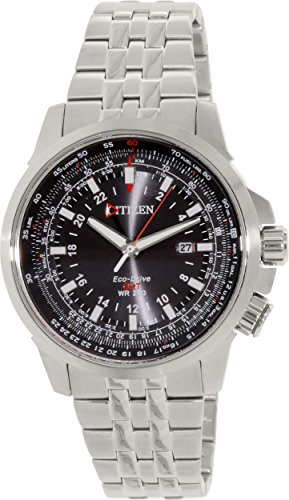 Watch Citizen Promaster Sky BJ7070-57E GMT Steel Man by Citizen