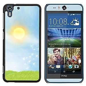 "For HTC Desire Eye ( M910x ) , S-type Pradera"" - Arte & diseño plástico duro Fundas Cover Cubre Hard Case Cover"