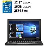 Dell Latitude 7000 7280 Business Ultrabook: 12.5 (1366x768), Intel Core i7-7600U, 256GB SSD, 16GB DDR4, Webcam, Windows 10 Professional 64-Bit (Certified Refurbished)