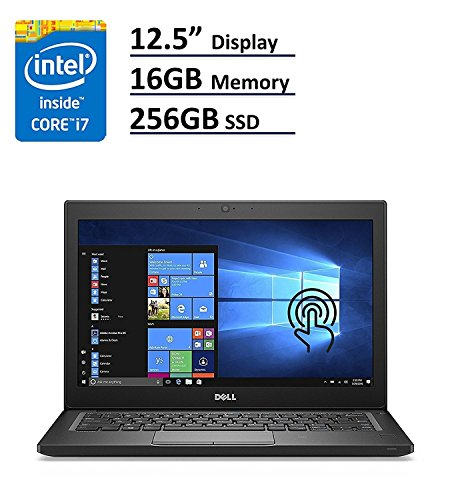 Dell Latitude 7000 7280 Business Ultrabook: 12.5″ (1366×768), Intel Core i7-7600U, 256GB SSD, 16GB DDR4, Webcam, Windows 10 Professional 64-Bit (Certified Refurbished)