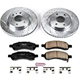 Power Stop K4657-36  Z36 Truck and Tow Brake Kit (Severe-Duty Pads With Drilled and Slotted Rotors)