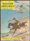 WESTERN HORSEMAN US Cavalry Kemah Arabians Jamboree Rodeo ++ 11 1960