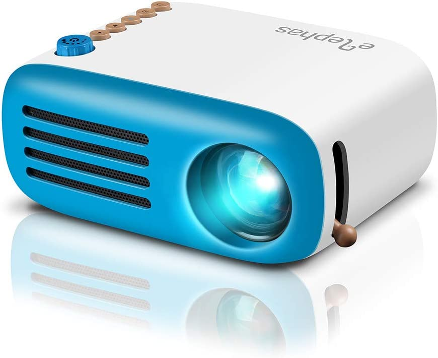 Mini Proyector ELEPHAS, Proyector LED portátil móvil Regalo para ...