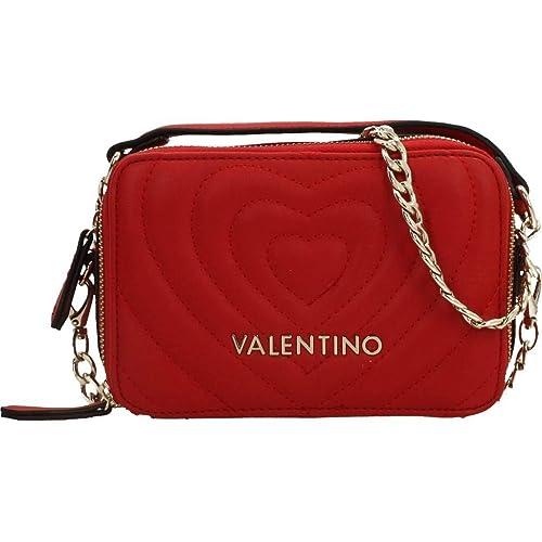 estilo clásico comprar original selección asombrosa Valentino, BANDOLERA ROSSO VBS2ZO01, bolso rojo para mujer
