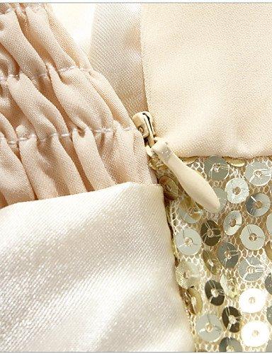 PU&PU Robe Aux femmes Grandes Tailles Grandes Tailles / Soirée Mi-long Autres / Mousseline de soie , yellow-one-size , yellow-one-size