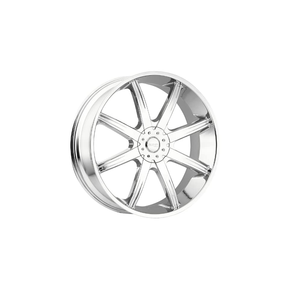 Incubus Empire 28 Chrome Wheel / Rim 6x5.5 with a 25mm Offset and a 110 Hub Bore. Partnumber 840289655+25C