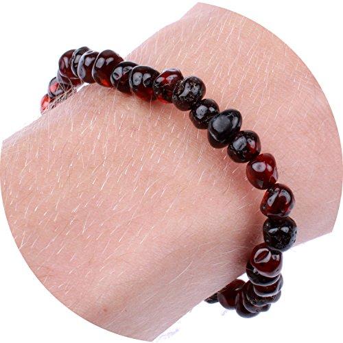 Baltic Amber Bracelet / Anklet for Women, Mom,