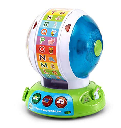 - LeapFrog Spin and Sing Alphabet Zoo